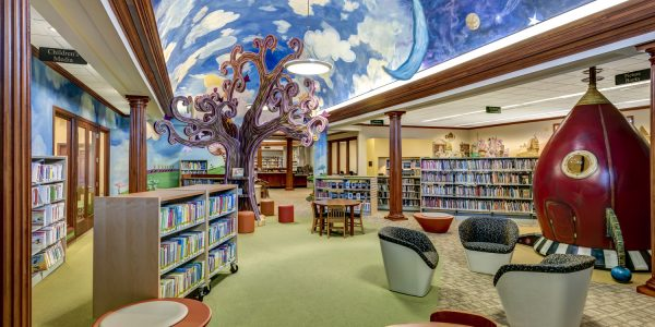 A library is a place of wonder for children.